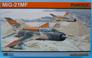 Eduard 1/48 MiG-21 MF - box top