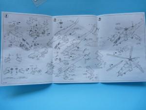 Hobbyboss Mi-24V instructions