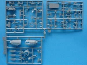Sprues B and C - top