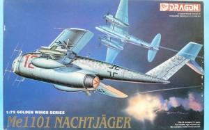 Me-1101 Nachjager, Dragon 5014 - box top