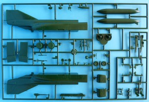 Main fuselage components, ejection seats, etc.