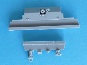 Chassis backplate and towing fittings
