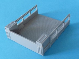 Cargo bed - looking from the front