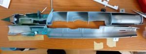 Fuselage support frames