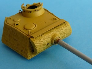 Panther barrel stripped back to plastic