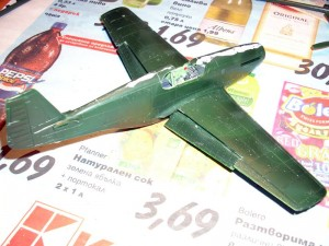 Closed fuselage and repositioned flaps