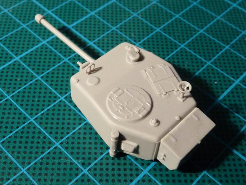 Assembled turret
