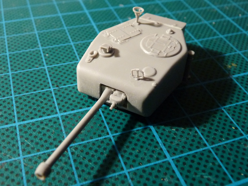 Assembed turret