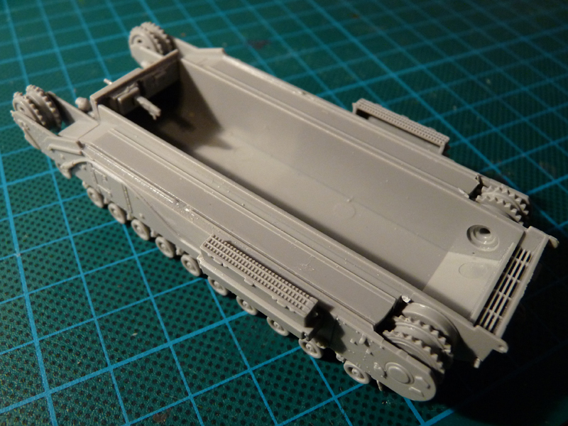 Assembled lower hull