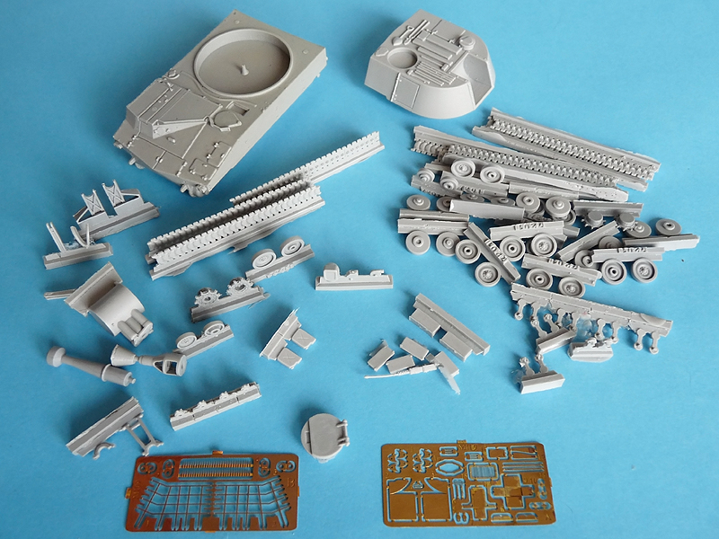 ?109 by OKB Grigorov - all the parts together