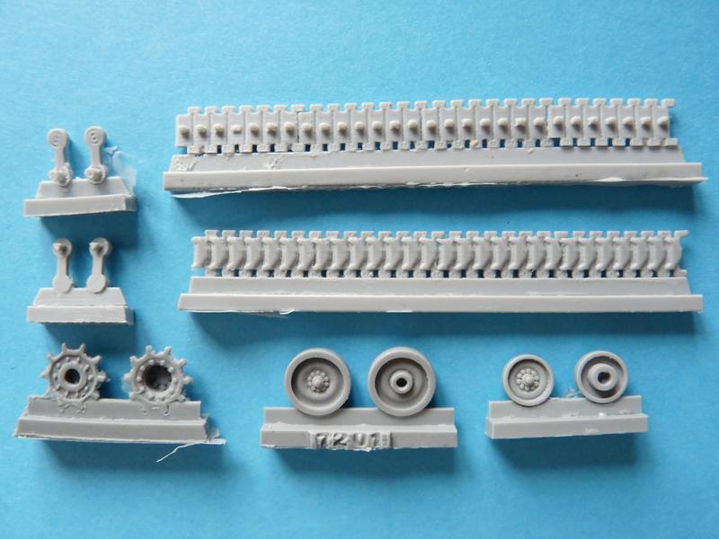 M109 by OKB Grigorov - running gear