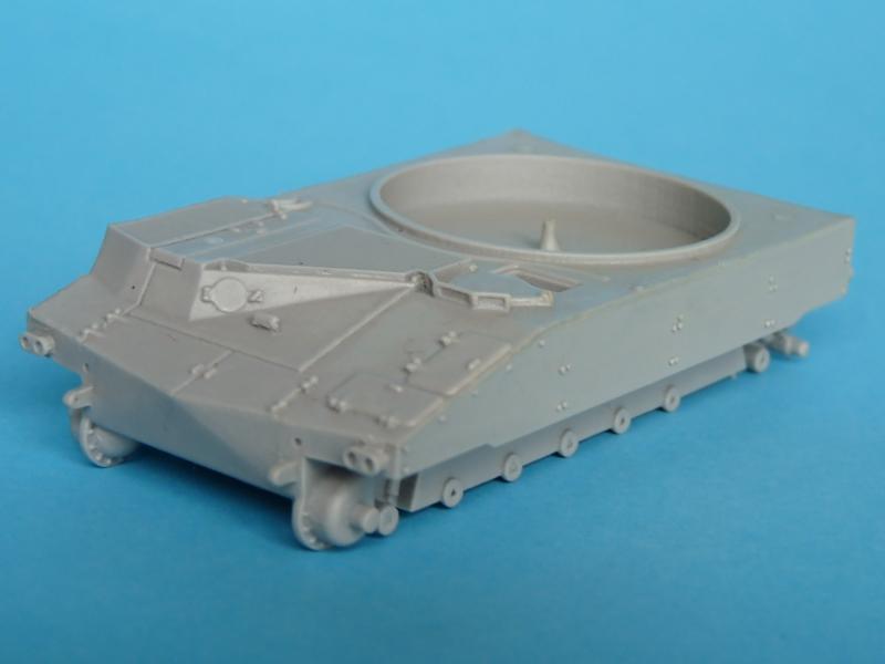 M109 by OKB Grigorov - hull