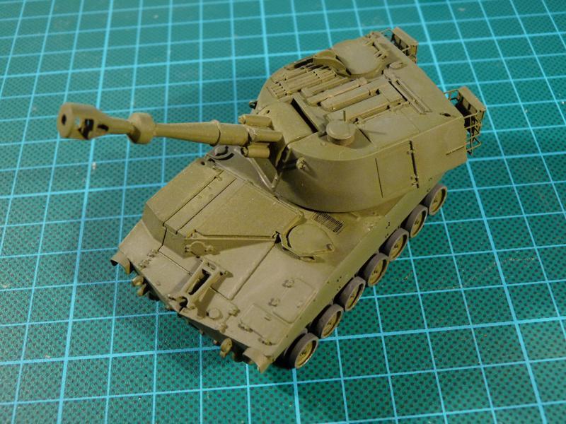 M109 on its feet