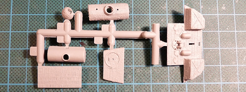 Dragon Panther G 7252 Sprue F top