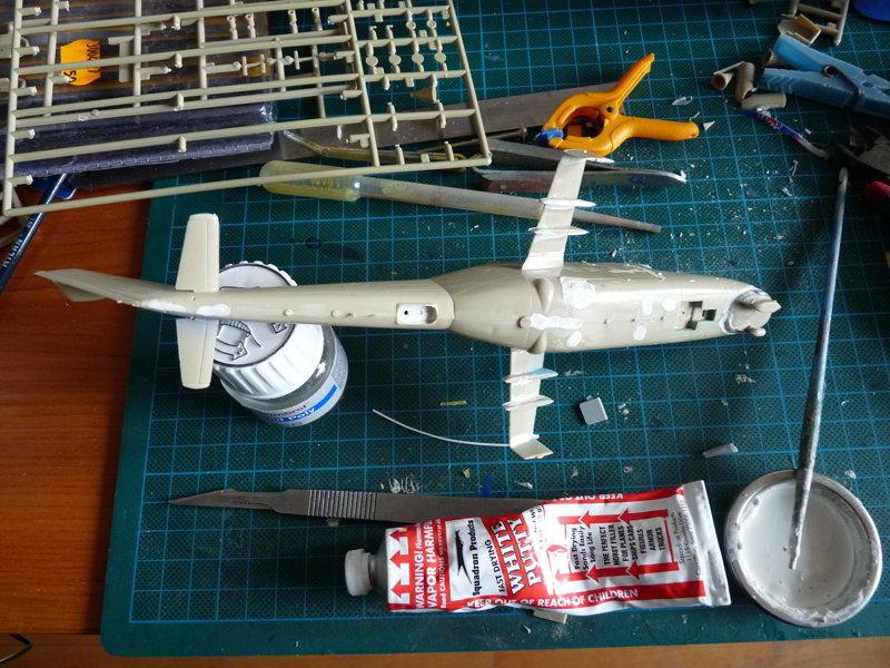 Mi-24P ESCI Filling gaps: bottom