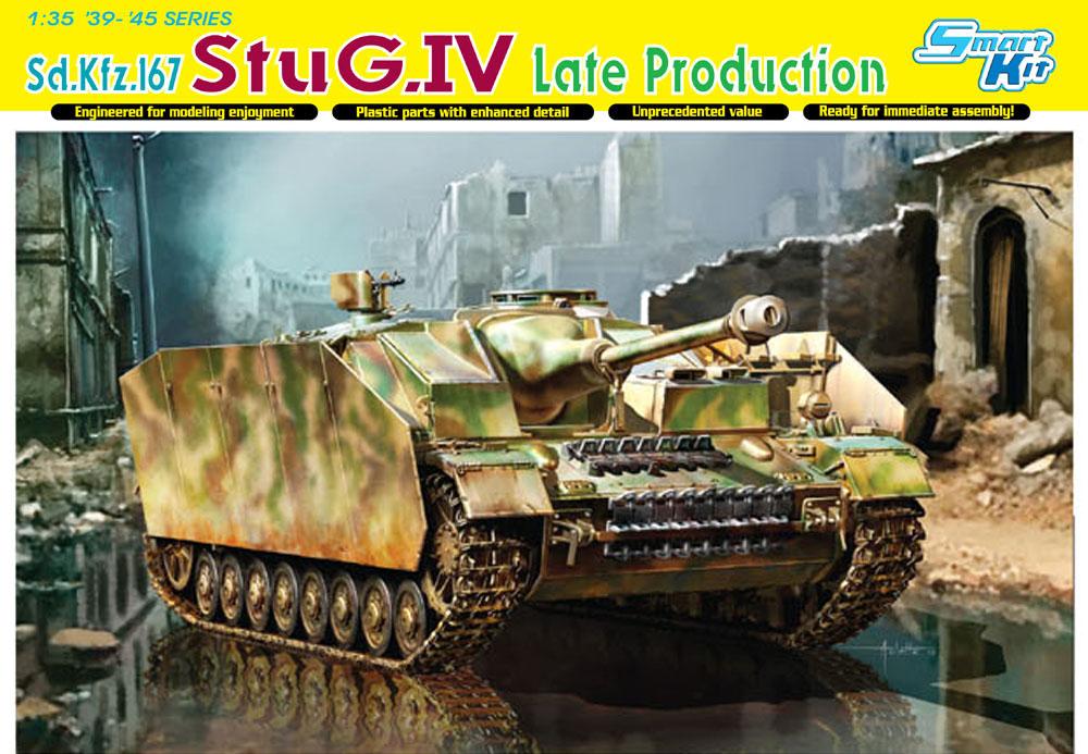 Dragon 1/35 StuG IV Late, kit 6211, Box top