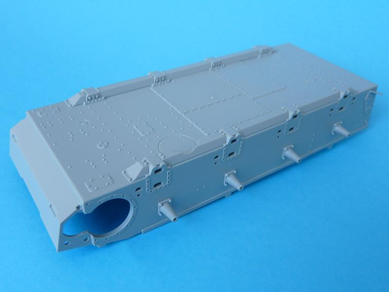 Dragon 1/35 StuG IV Late, kit 6211, Hull tub bottom