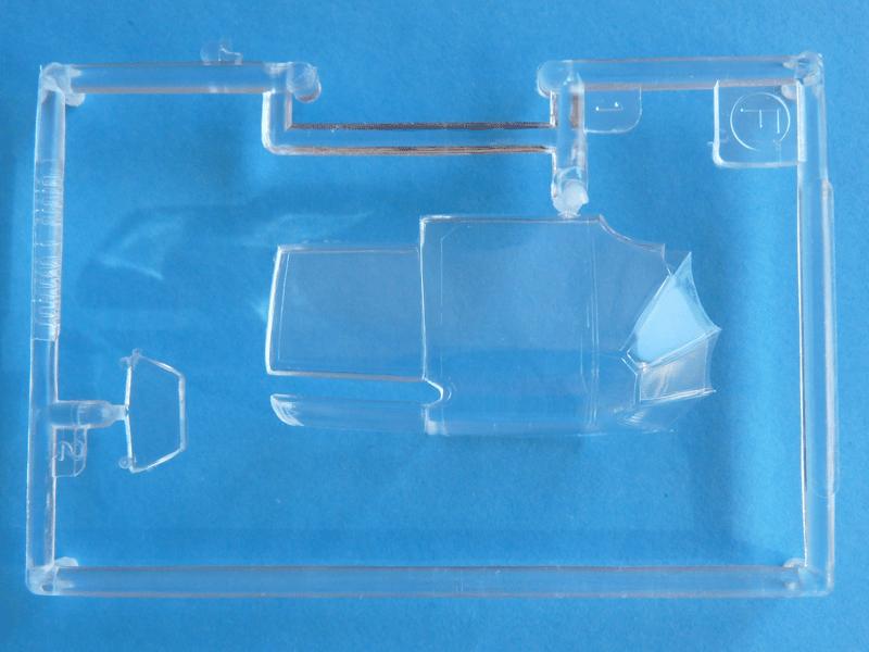 Tamiya 1/48 J2M3 Clear parts