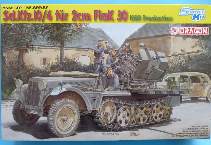 Dragon 6739 1/35 SdKfz 10/4 Boxtop