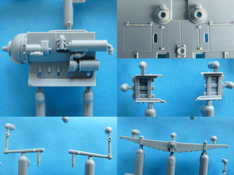 Dragon 6739 1/35 SdKfz 10/4 More detail shots of various parts