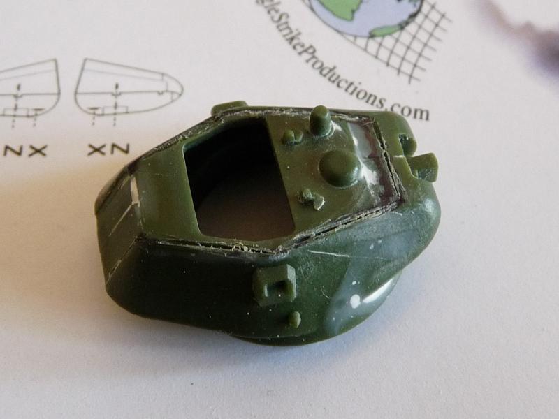 Turret prepared for mods