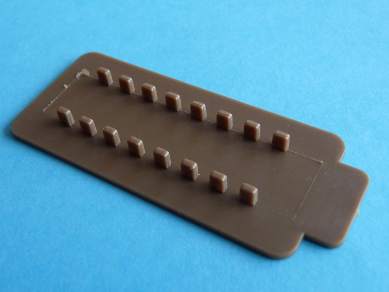 Bronco 1/35 SU-152 Early CB35113 Part T - track assembly jig