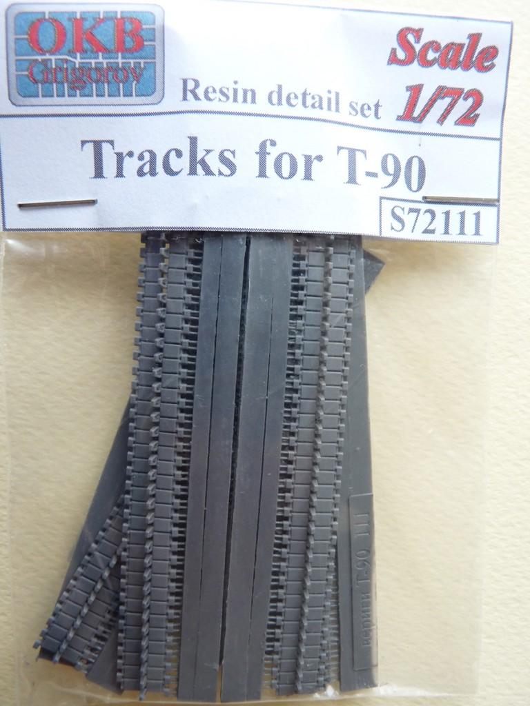 OKB Grigorov tracks for T-90, set 72111