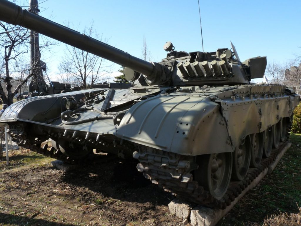 T-72B in Sofia, National Museum of Military History