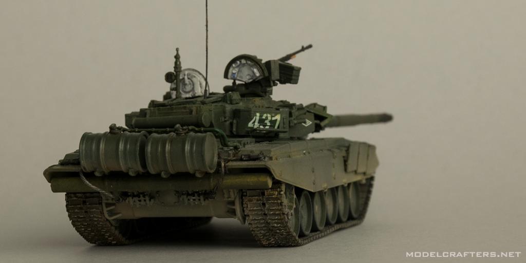 Zvezda 1/72 T-90, kit 5020
