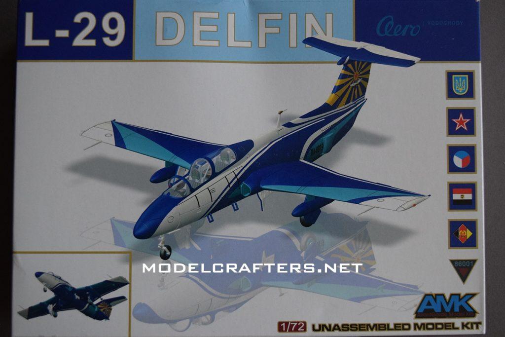 AMK 1/72 L-29 Delfin, kit 86001.