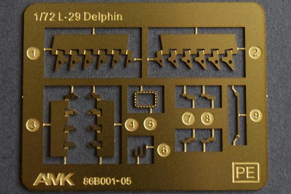 AMK 1/72 L-29 Delfin, kit 86001