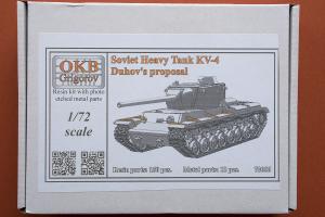 Boxart for Duhov's KV-4 from OKB Grigorov