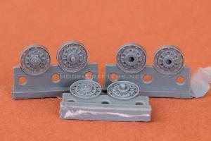 Stamped roadwheels, KV-4 (Duhov)