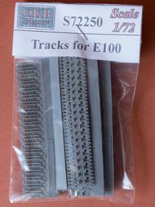 E-100 resin tracks, OKB Grigorov