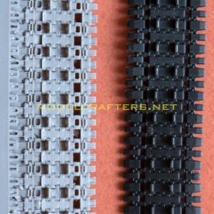 E-100 tracks inside, OKB vs MC