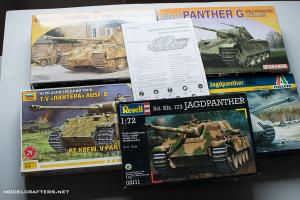 1/72 Panther and Jagdpanther kits