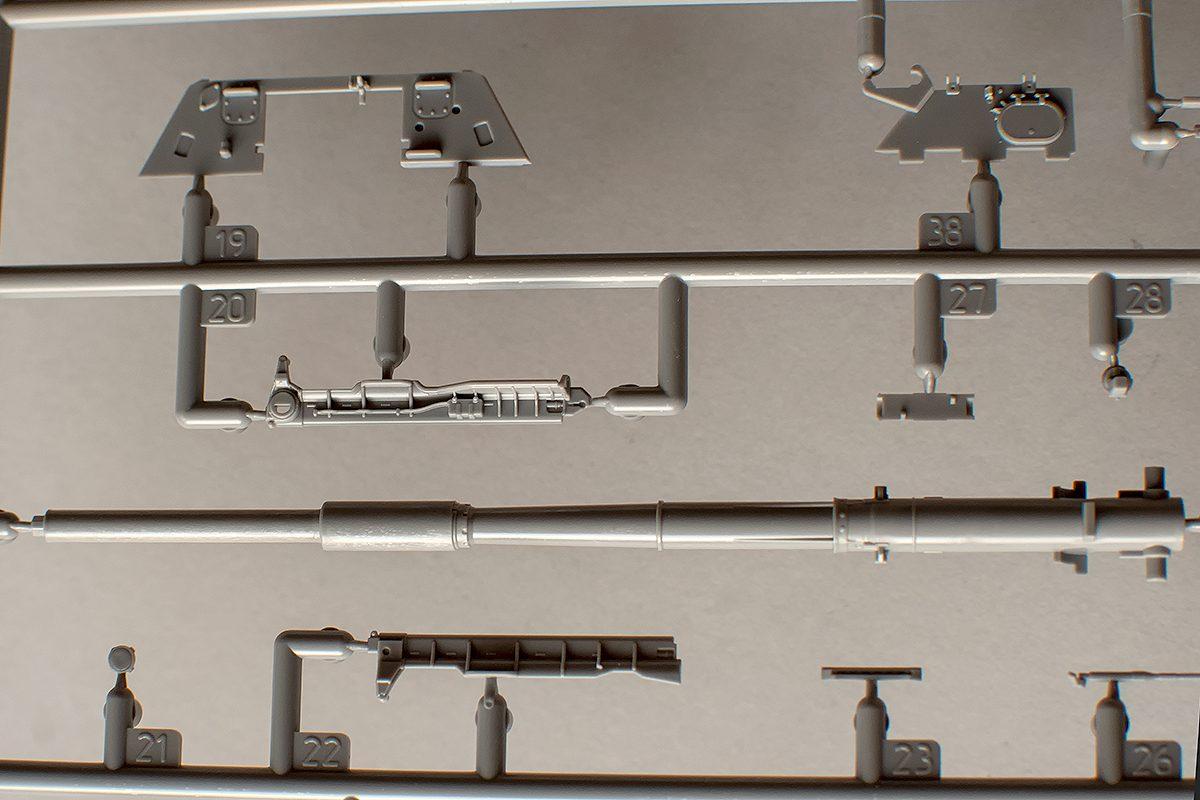Gun tube and ammo elevator