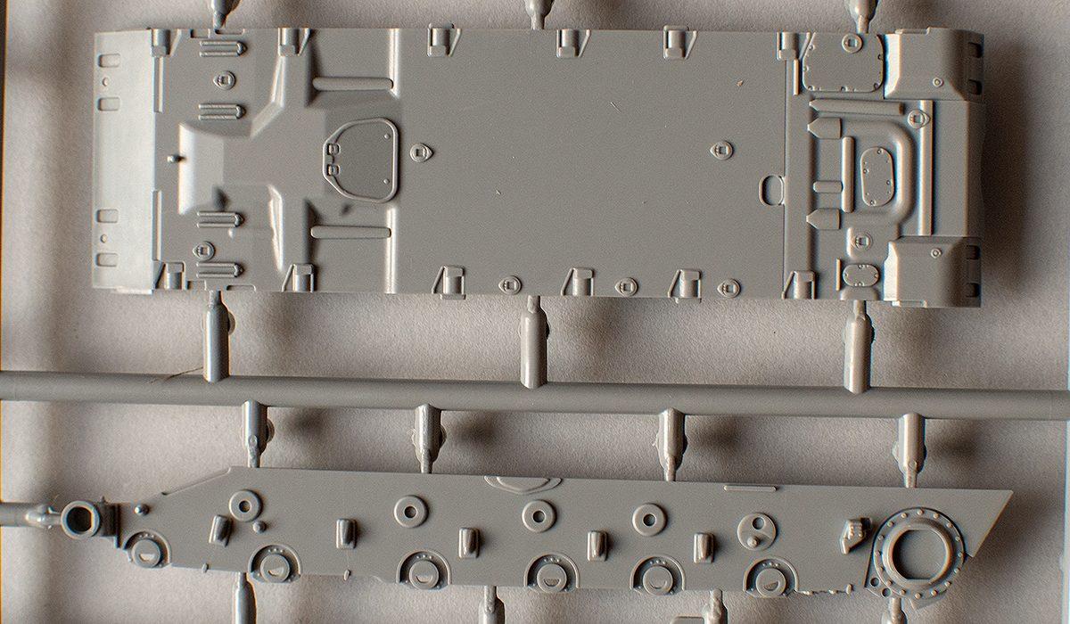 Hull bottom and side panel
