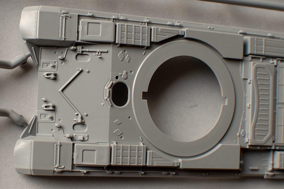 Zvezda 1/72 Msta-S hull front