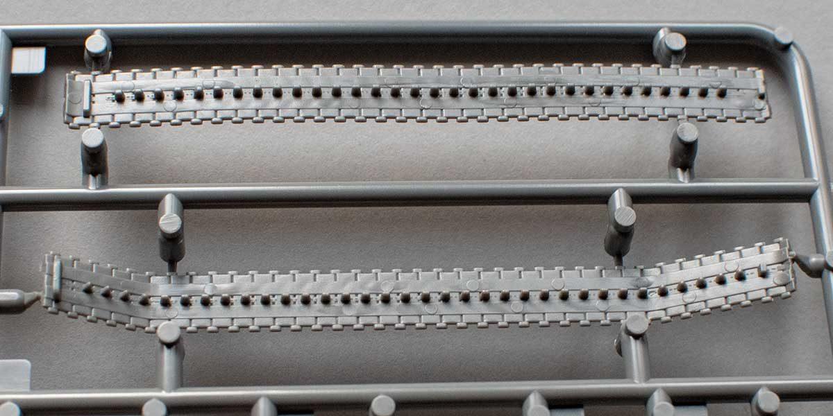 Fujimi Type 87 - tracks