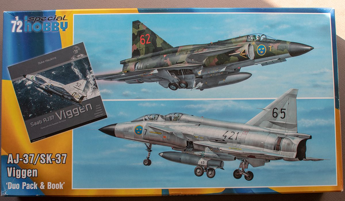 Special Hobby Viggen Duo Pack & Book, kit 72411