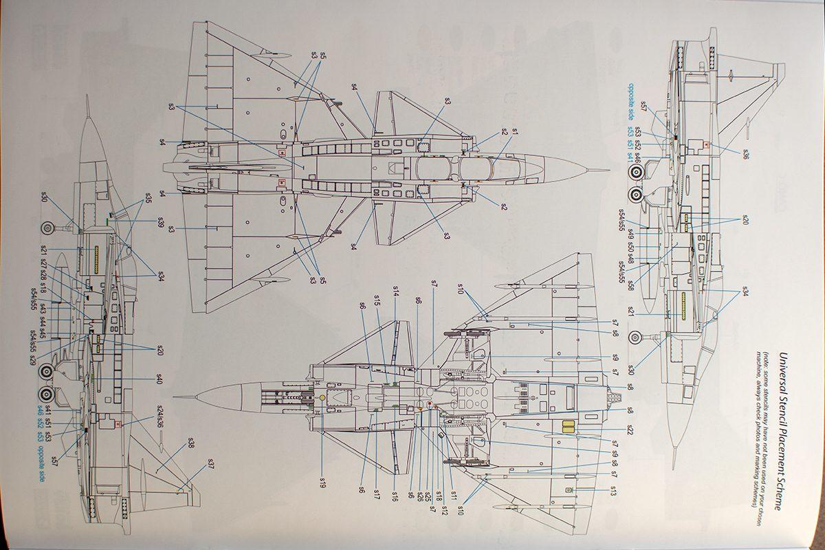 Special Hobby Viggen SK-37 stencilling diagram