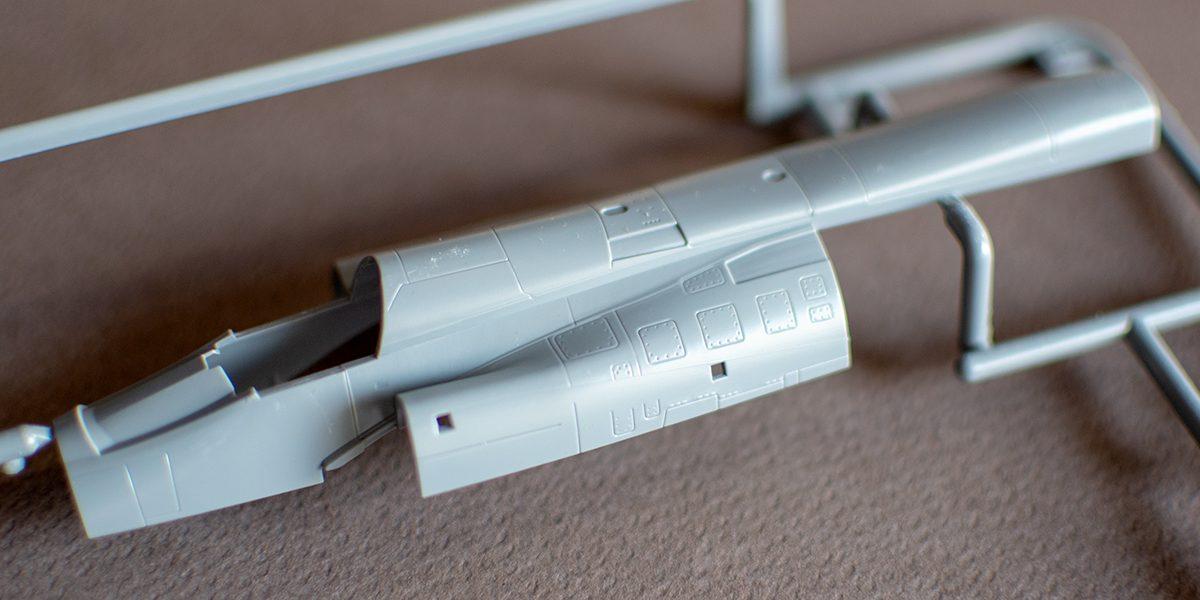 Special Hobby AJ-37 Viggen fuselage top